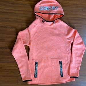 Forever 21 bright peachy pink sweatshirt small